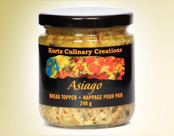 Asiago Bread Topper